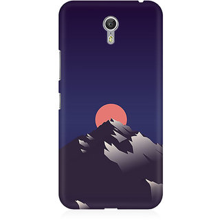 RAYITE Sunset Scenery Premium Printed Mobile Back Case Cover For Lenovo Zuk Z1