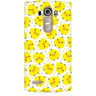 RAYITE Chicken Pattern Premium Printed Mobile Back Case Cover For LG G4