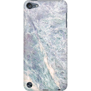 RAYITE Grey Marble Preum Printed Mobile Back Case Cover For  IPod Touch 6