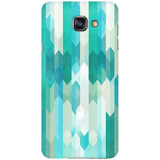 RAYITE Icy Chevron Pattern Premium Printed Mobile Back Case Cover For Samsung A5 2016