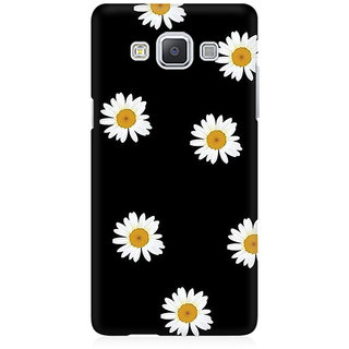 RAYITE Floral Print Premium Printed Mobile Back Case Cover For Samsung A5
