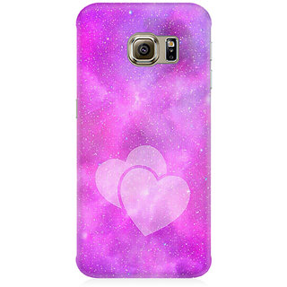 RAYITE Galaxy Heart Premium Printed Mobile Back Case Cover For Samsung Note 7