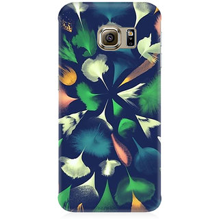 RAYITE Colourful Feathers Premium Printed Mobile Back Case Cover For Samsung Note 7
