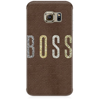 RAYITE Boss Premium Printed Mobile Back Case Cover For Samsung Note 7
