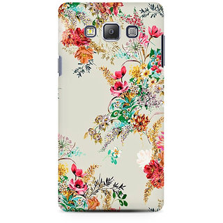 RAYITE Flower Abstract Premium Printed Mobile Back Case Cover For Samsung On5