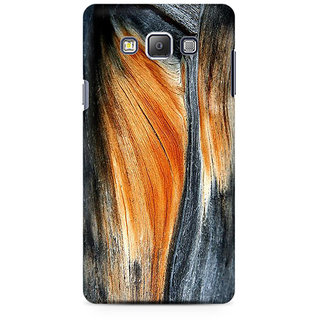 RAYITE Classic Wood Premium Printed Mobile Back Case Cover For Samsung A7