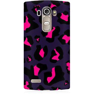 RAYITE Black Cheetah Print Premium Printed Mobile Back Case Cover For LG G4