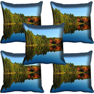 meSleep Nature Digital printed Cushion Cover (18x18) - 18CD-60-064-05
