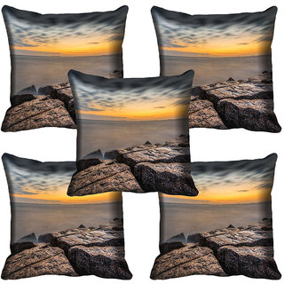 meSleep Nature Digital printed Cushion Cover (18x18) - 18CD-64-139-05
