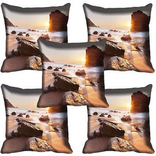 meSleep Nature Digital printed Cushion Cover (18x18) - 18CD-64-140-05