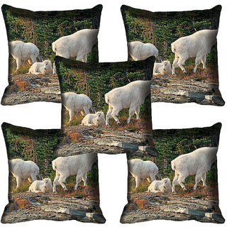 meSleep Wild Life Digital printed Cushion Cover (18x18) - 18CD-65-103-05