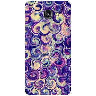 RAYITE Watercolor Waves Premium Printed Mobile Back Case Cover For Samsung A5 2016