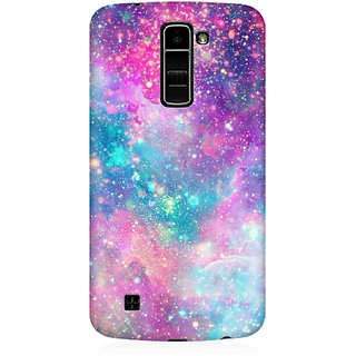 RAYITE Galaxy Print Premium Printed Mobile Back Case Cover For LG K10