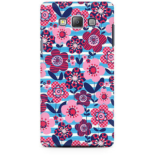 RAYITE Floral Art Premium Printed Mobile Back Case Cover For Samsung On5 Pro