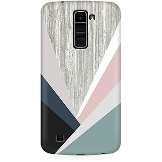 RAYITE Wood Art Premium Printed Mobile Back Case Cover For LG K10