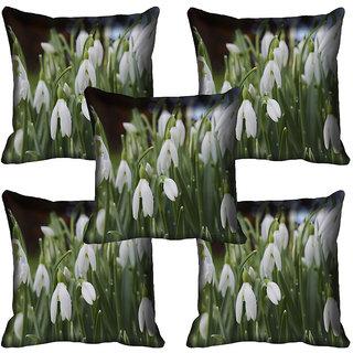 meSleep Flower Digital printed Cushion Cover (18x18) - 18CD-63-115-05