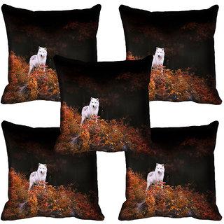 meSleep Wild Life Digital printed Cushion Cover (18x18) - 18CD-64-177-05