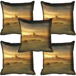 meSleep Nature Digital printed Cushion Cover (18x18) - 18CD-72-109-05