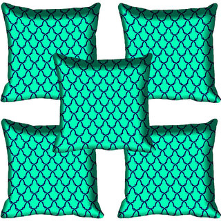 meSleep Pattern Digital Printed Cushion Cover 18x18 - 18CD-80-008-05