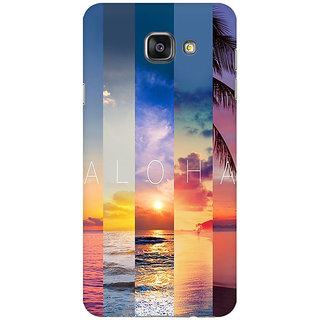 RAYITE Aloha Premium Printed Mobile Back Case Cover For Samsung A5 2016