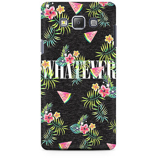 RAYITE Whatever Premium Printed Mobile Back Case Cover For Samsung A7