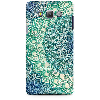 RAYITE Mandala Abstract Premium Printed Mobile Back Case Cover For Samsung On5 Pro