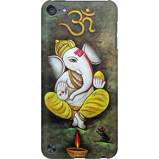 RAYITE Ganesha Preum Printed Mobile Back Case Cover For  IPod Touch 6