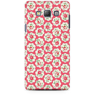 RAYITE Rose Flower Pattern Premium Printed Mobile Back Case Cover For Samsung On5 Pro