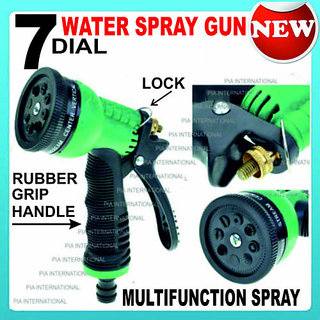 MULTIFUNCTION 7 SPRAY GUN WITH LOCKING SYSTEM