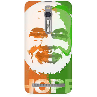 RAYITE Modi Premium Printed Mobile Back Case Cover For Asus Zenfone 2