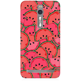 RAYITE Watermelon Abstract Premium Printed Mobile Back Case Cover For Asus Zenfone 2