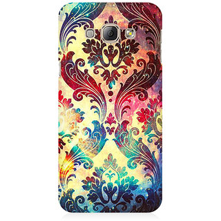 RAYITE Geometric Galaxy Premium Printed Mobile Back Case Cover For Samsung A8
