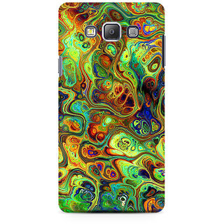 RAYITE Abalone Premium Printed Mobile Back Case Cover For Samsung On7