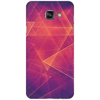 RAYITE Retro Art Premium Printed Mobile Back Case Cover For Samsung A7 2016