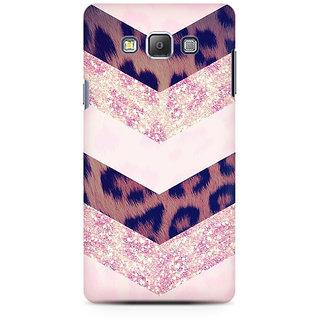 RAYITE Classy Chevron Premium Printed Mobile Back Case Cover For Samsung On5 Pro