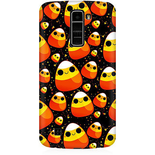 RAYITE Cute Egg Toons Premium Printed Mobile Back Case Cover For LG K7