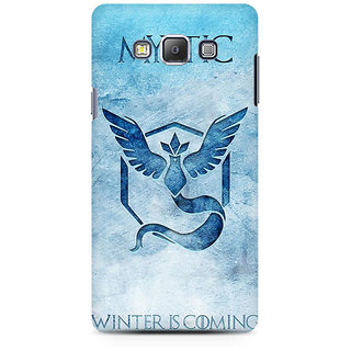RAYITE Mystic Winter Is Coming Premium Printed Mobile Back Case Cover For Samsung On5 Pro