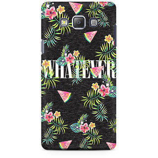 RAYITE Whatever Premium Printed Mobile Back Case Cover For Samsung On5 Pro