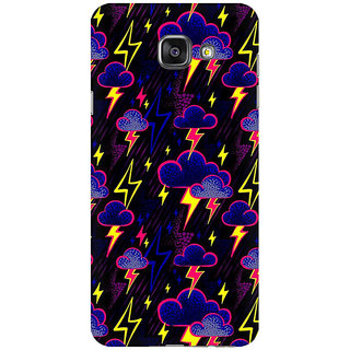 RAYITE Cloud And Thunderstorme Premium Printed Mobile Back Case Cover For Samsung A5 2016