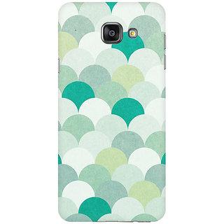RAYITE Silver Umbrella Premium Printed Mobile Back Case Cover For Samsung A5 2016