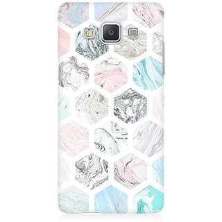 RAYITE Colourful Marble Abstract Premium Printed Mobile Back Case Cover For Samsung A5