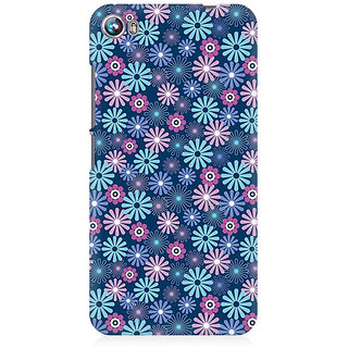 RAYITE Little Flower Premium Printed Mobile Back Case Cover For Micromax Canvas Fire 4 A107
