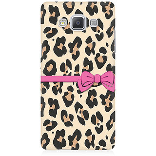RAYITE Cheetah Gift Wrap Premium Printed Mobile Back Case Cover For Samsung A5