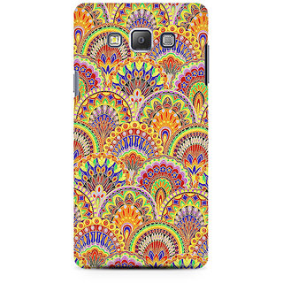 RAYITE Glow Mandala Pattern Premium Printed Mobile Back Case Cover For Samsung On5 Pro