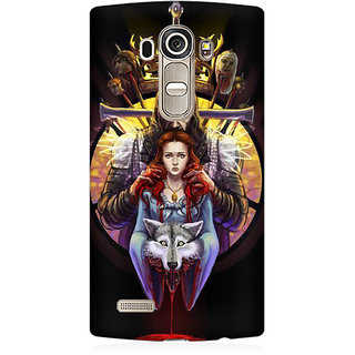 RAYITE Game Of Thrones Premium Printed Mobile Back Case Cover For LG G4