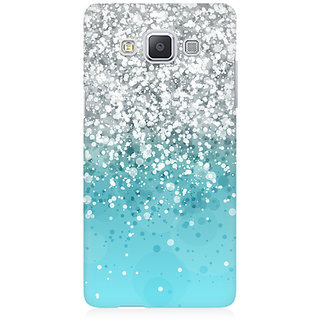 RAYITE Glitter Print Pattern Premium Printed Mobile Back Case Cover For Samsung A5