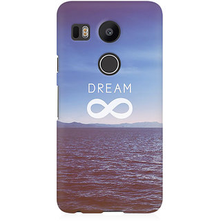 RAYITE Dream Premium Printed Mobile Back Case Cover For LG Nexus 5X