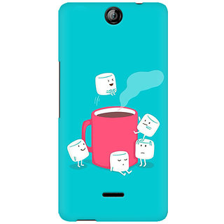 RAYITE Sugar Cube Coffee Premium Printed Mobile Back Case Cover For Micromax Canvas Juice 3 Q392