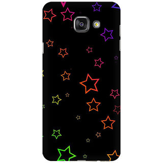 RAYITE Glowing Stars Premium Printed Mobile Back Case Cover For Samsung A7 2016