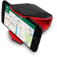 Tizum Covert Universal Car Mount Cradle, Mobile Holder for GPS, Smartphones upto 6-inch (Red)